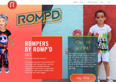 Romp'd Web Design